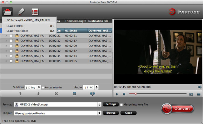 Pavtube Free DVDAid for Mac