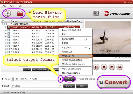 rip/transfer bd movies to 720p mp4 for ipod touch 4g