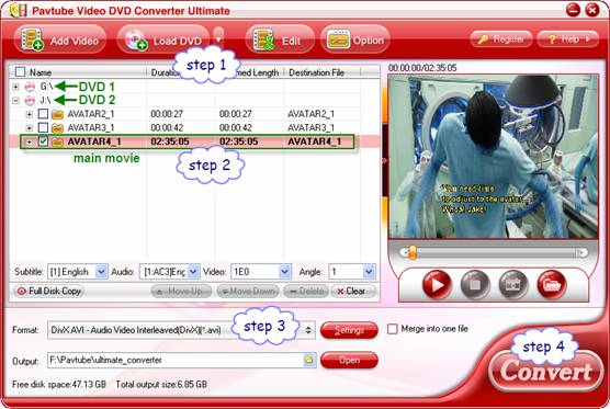 DVD Ripping – Convert DVDs in batch and maintain perfect