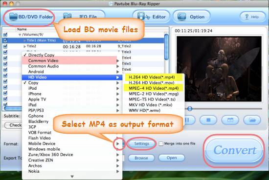 copy/backup/rip bd to mp4 on mac