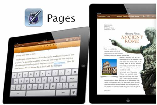 pages ipad 2