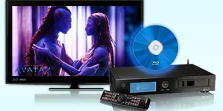 play Blu-ray on popcorn hour