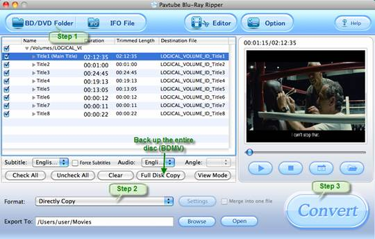 play blu-ray with NMT C200