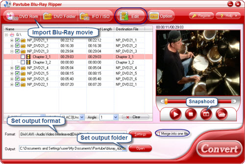 Convert Blu-Ray to Divx ---- Blu-Ray Ripper