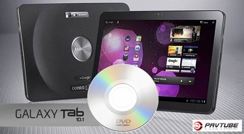 dvd to galaxy tab 10.1