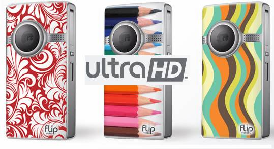 convert Flip Ultra HD MP4 to 720p AVI