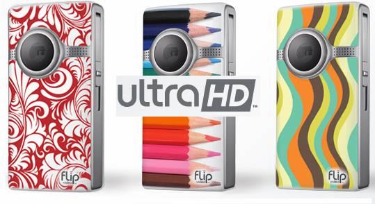 convert Flip Ultra HD MP4 to 720p AVI