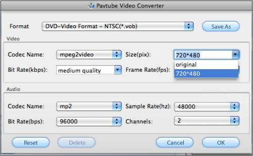 How to convert MKV to VOB on Mac?