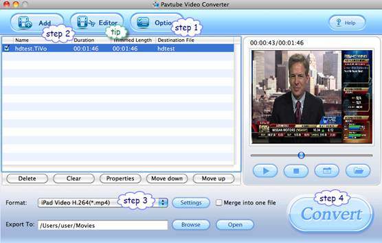 TiVo to HTC Evo 4G Mac