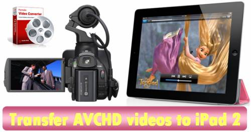 convert/transcode/copy avchd to ipad 2