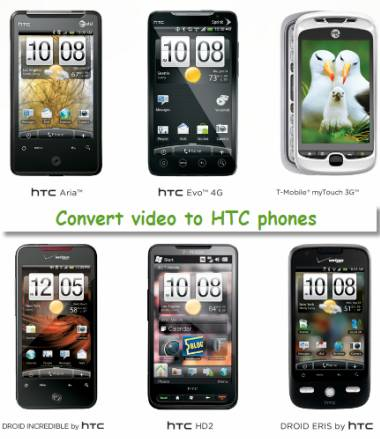 video to htc converter