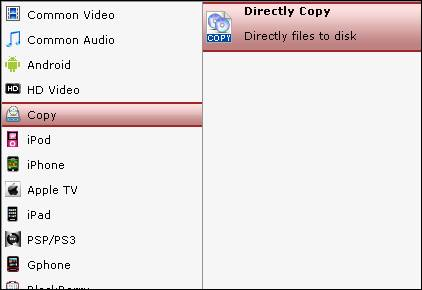 copy blu-ray to m2ts