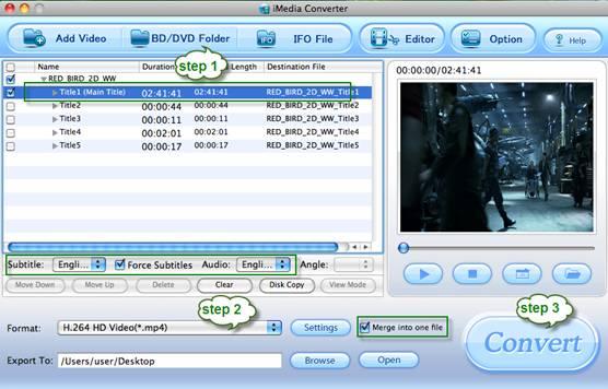 blu-ray 1080p mov mp4 m4v imedia converter for mac