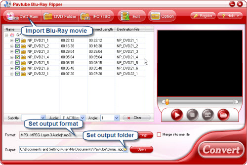 how to get extractd fom an mp3