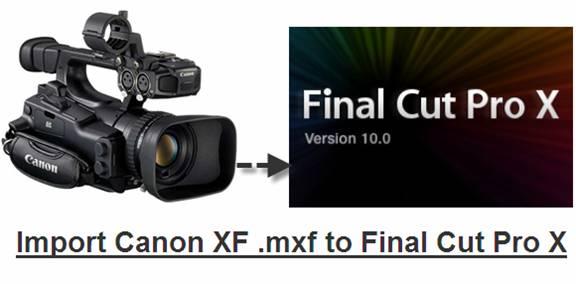 canon xf105 mxf