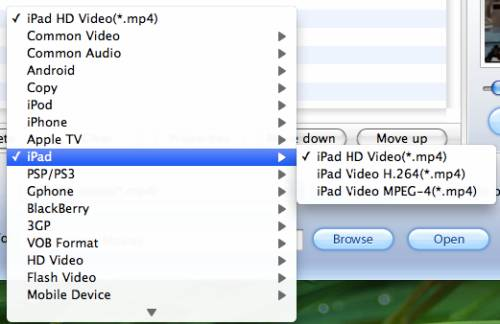 mac ipad 2 video converter