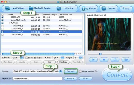 mac dvd to Archos 5/7