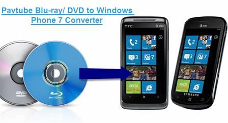 windows phone 7 htc surround samsung focus blu-ray dvd movies