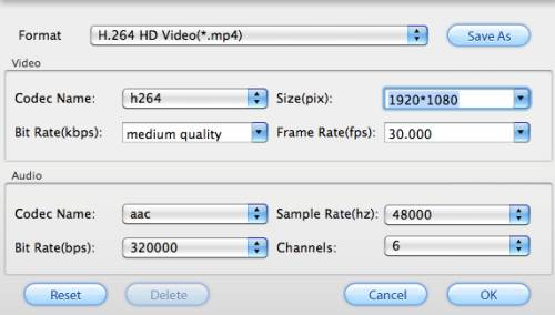 convert h.264 to mp4 mac