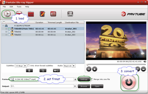 put and play bluraydvd movies in windows media center