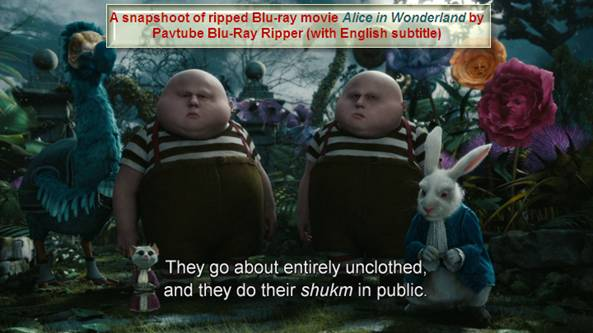 alice in wonderland snapshoot thumbnail blu-ray movie