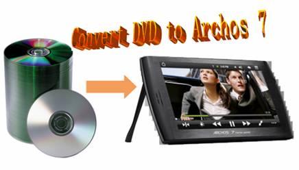 dvd to archos 7 converter