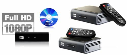 blu-ray on wd tv media player