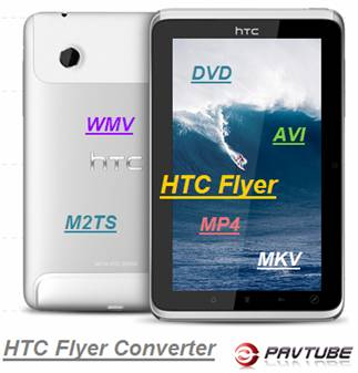 HTC Flyer mkv