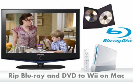 Rip blu-ray/DVD to Wii