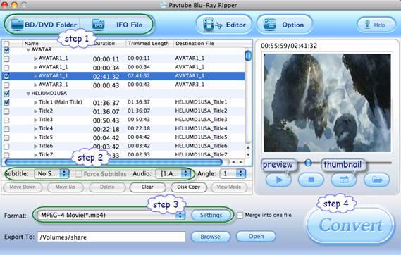 PK301 project blu-ray