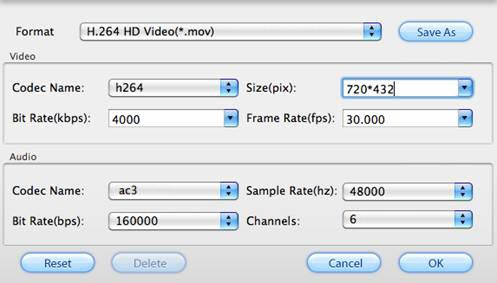 DVD to Apple TV 3 Converter for Mac