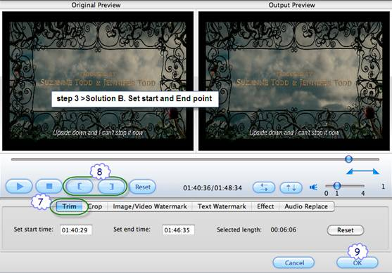 how to cut clips from a dvd on mac