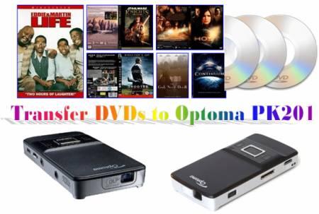 Optoma PK201 mini projector