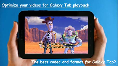 play avi galaxy tab