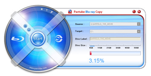 How to copy Blu-ray movie from disc to disc with Pavtube Blu-ray Copy?