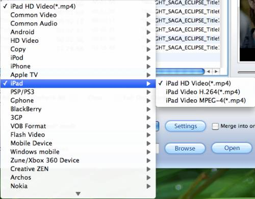 convert vc-1 m2ts to ipad on mac