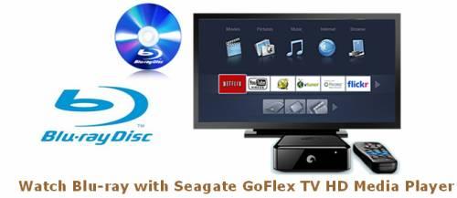 Seagate Goflex backup blu-ray