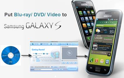 samsung galaxy s i9000 blu-ray playback