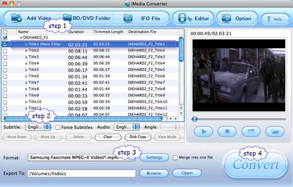 samsung galaxy s i9000 movie playback