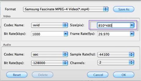 samsung galaxy s i9000 video playback