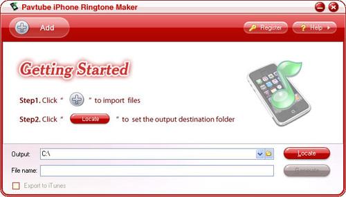 Pavtube iPhone Ringtone Maker 1.1.2.89