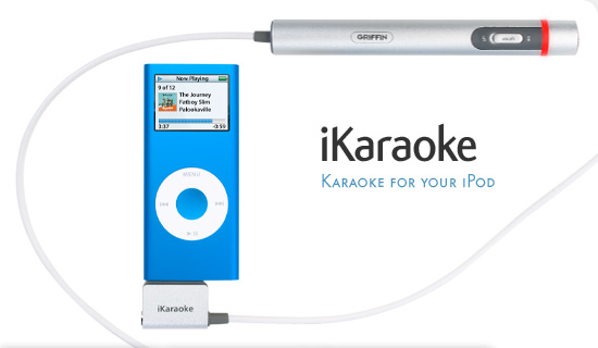 karaoke machine with ipod