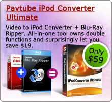 Pavtube iPod Converter Ultimate