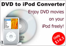 Pavtube DVD to iPod Converter