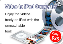 Pavtube Video to iPod Converter