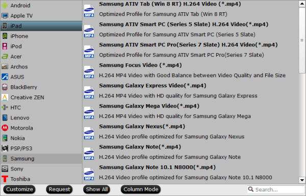 bytecopy output-formats interface