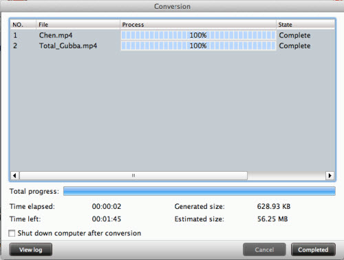 mod converter for mac conversion interface