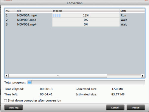 tod converter for mac conversion interface