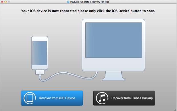 mac ios data recovery interface