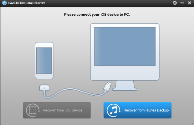 ios data recovery interface